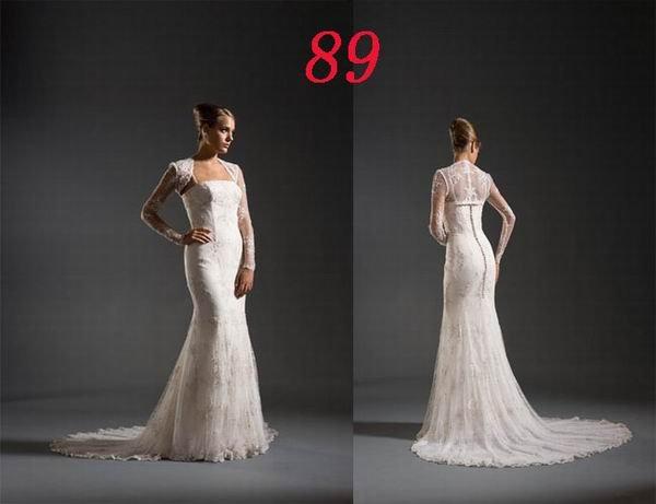 Mermaid Style Wedding Dress Bridesmaid Bridal Gown Custom