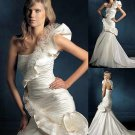 Mermaid Style Wedding Dress Bridesmaid Bridal Gown Custom