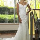 OFF THE SHOULDER Style LACE Wedding Dress Bridesmaid Bridal Gown Custom