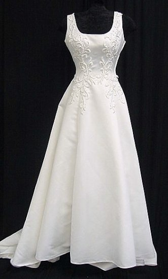MODEST Style LACE Wedding Dress Bridesmaid Bridal Gown Custom