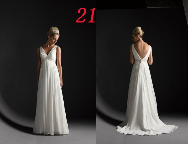 SIMPLE Style LACE Wedding Dress Bridesmaid Bridal Gown Custom