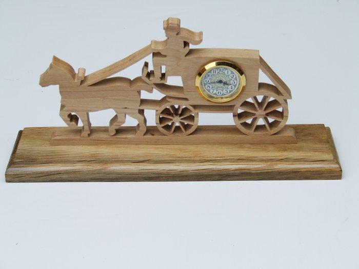 Carriage Mini-clock