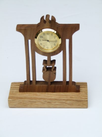 Executive Mini-Desk Clock