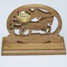 Horse Mini-Clock