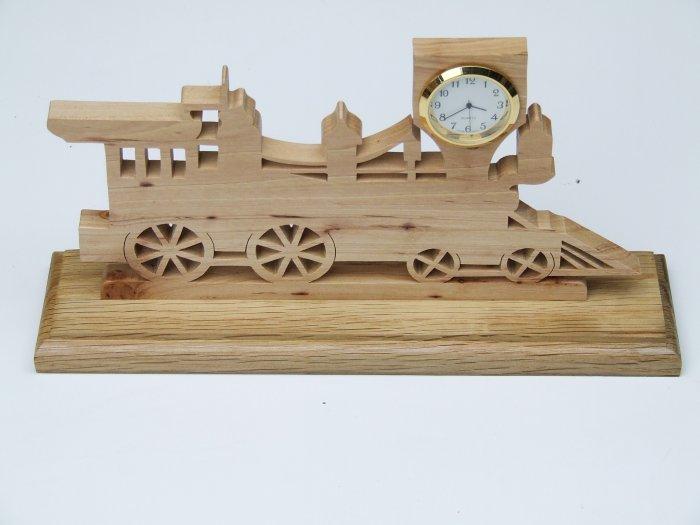Train Mini-Clock