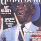 Down Beat - December 1988 - Art Blakey Cover - Readers Poll Results