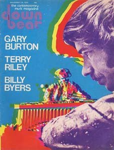 Down Beat - November 20, 1975 - Gary Burton Psychedelic Cover