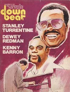 Down Beat - November 6, 1975 - Stanley Turrentine - Dewey Redman & More