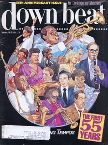Down Beat - September 1989 - 55th Anniversary Issue