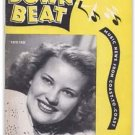 Down Beat - June 18, 1947 - Patti Page Cover - Holiday Pleads Guilty