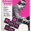 Down Beat - October 28, 1971 - Thelonious Monk cover - Keyboard Issue