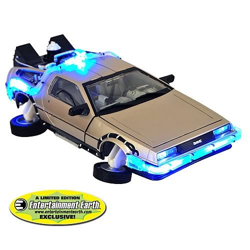 EE Exclusive Back to the Future II Delorean MISB