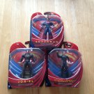 2013 Man of Steel Deluxe Set of 3 Figures MOC c8.5+