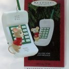 Hallmark Ornament Holiday Hello 1997 Phone Record Mouse