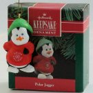 Hallmark Ornament 1990 Polar Jogger - Penguin Runner