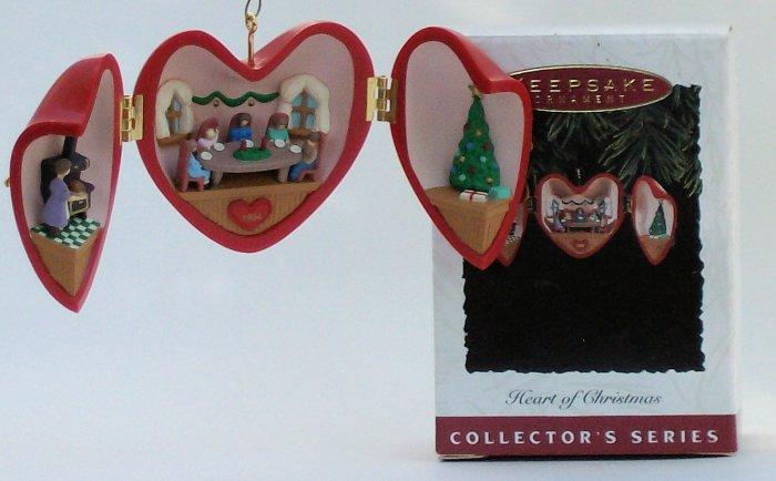 Hallmark Ornament Heart of Christmas 1994 #5 Locket