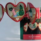 Hallmark Ornament Heart of Christmas 1992 #3 Locket