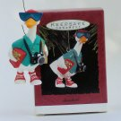Hallmark Ornament Snowbird 1993 Goose Retirement Senior