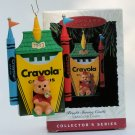 Hallmark Ornament Bright Shining Castle 1993 #5 Crayola