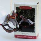 Hallmark Ornament Rocking Horse 1993 #13 Christmas Toy