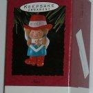 Hallmark Ornament 1993 Niece - Cowgirl Sheriff Western
