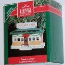 Hallmark Ornament Donder's Diner 1990 - Reindeer House