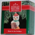 Hallmark Ornament Home for the Owlidays 1990 Owl Bird