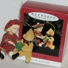 Hallmark Ornament Lucinda and Teddy 1994 - Bear Doll