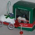 Hallmark Ornament Nostalgic Lamb 1989 Wagon Sheep Box