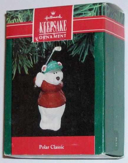 Hallmark Ornament Polar Classic 1991 - Bear Golf Club