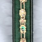 UNSIGNED BEAUTY VINTAGE COSTUME BRACELET