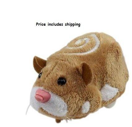 Zhu Zhu Pets Hamster MR SQUIGGLES BROWN