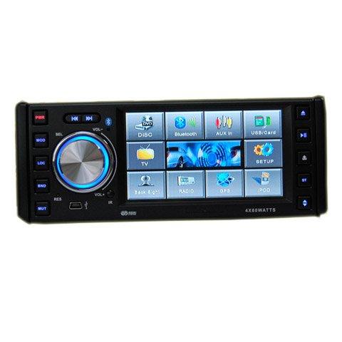 4.3 Inch 1 Din In-Dash Car DVD Player HL-4388GB + GPS