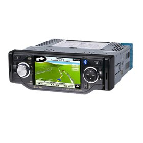 4.0 Inch 1 Din In-Dash Car DVD Player HL-4102GB with GPS