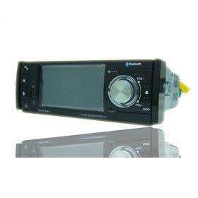 4.0 Inch 1 Din In-Dash Car DVD Player HL-4100GB + GPS