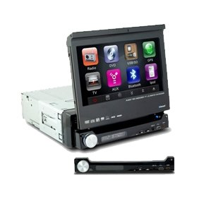 1 Din IN-DASH 7 INCH TFT WIDESCREEN Car DVD Player 8008BL without GPS