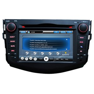 2 Din Car DVD Player HL-8718B Special for TOYOTA NEW RAV4 With GPS Navigation and DVB-T