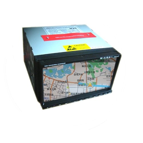 2 DIN 7 inch TFT Screen Car DVD Player CDP6701 without GPS