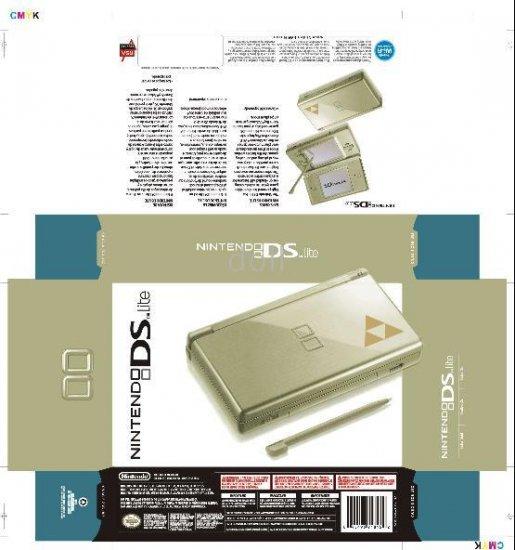 ZELDA NDSL Special Limited Edition