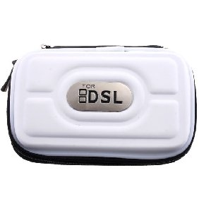 Nintendo DS Lite NDS NDSL Pouch Case Airform Bag - Silver