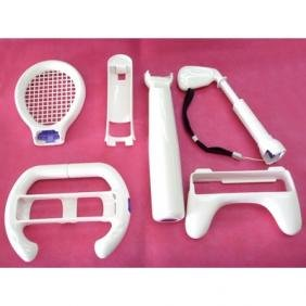 6 in 1 Sports Pack for Nintendo Wii Remote Nunchuk Game