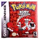 Pokemon Ruby Version (Game Boy Advance, 2003)