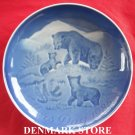 BEAR 1985 Danish Bing & Grondahl Copenhagen Mothers Day Plate