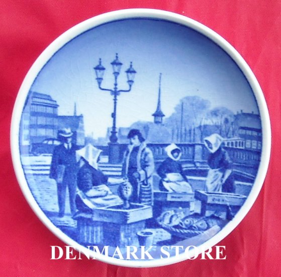 Fisketorvet Danish Aluminia Royal Copenhagen Mini Plate 45 2010