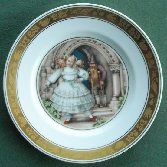 Red Shoes Danish Royal Copenhagen H C Andersen Plate