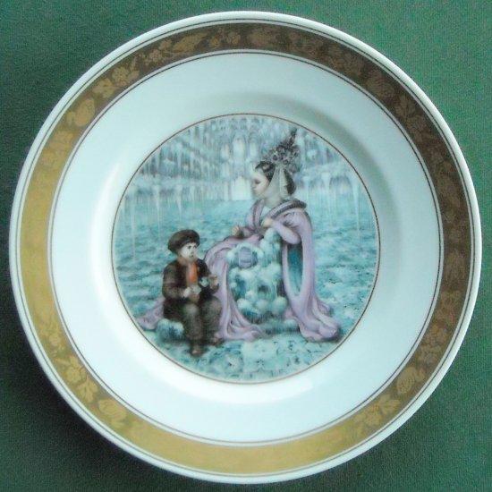 Snow Queen Royal Copenhagen Denmark H C Andersen Plate