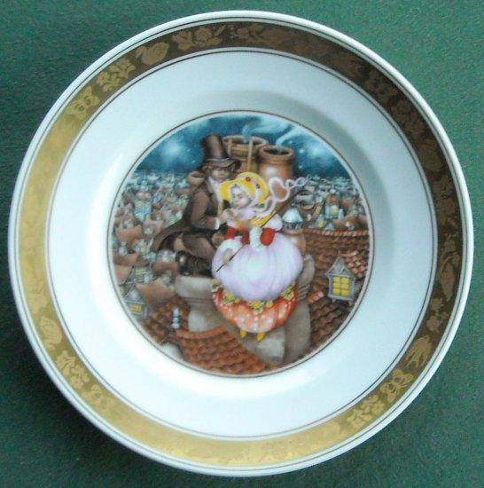 H C Andersen Shepherdess Chimney Sweep Royal Copenhagen Plate