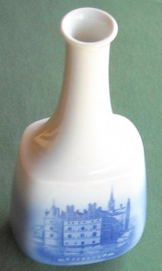 Royal Copenhagen Denmark Egeskov Tall Vase Decanter Bottle
