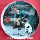 Vintage Bing & Grondahl Copenhagen First Issue Kurt Ard Moments Plate 1984