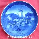 Vintage Danish Royal Copenhagen Denmark Jubilee Plate Northern Slesvig Reunion 1970